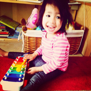 And now we make music! #toddler by feli*